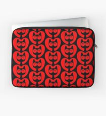 Cute Cartoon Cat In A Heart by Cheerful Madness!! Laptop Sleeve
