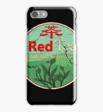 Red Tea iPhone Case/Skin