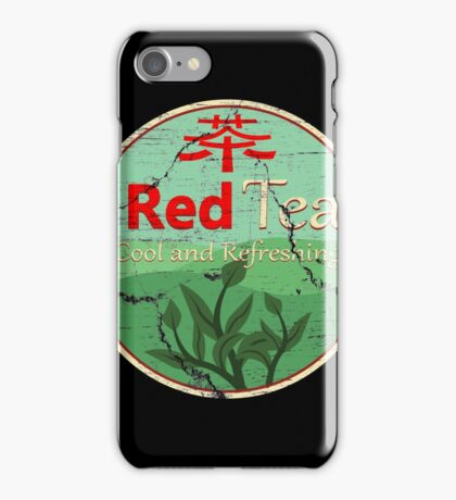Red Tea iPhone Case/Skin