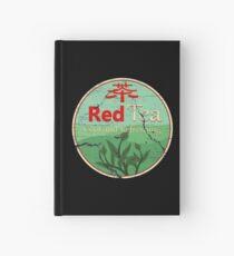 Red Tea Hardcover Journal