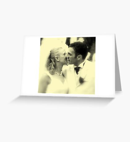 ALMOUST A KISS :) Greeting Card