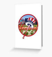 Yankees Greeting Card