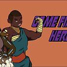 Find Your Heroes - Berserker & Monk by EmilyWatersArt
