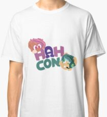 HAHcon with Cozy and Glitch Classic T-Shirt