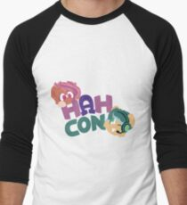 HAHcon with Cozy and Glitch Men's Baseball ¾ T-Shirt