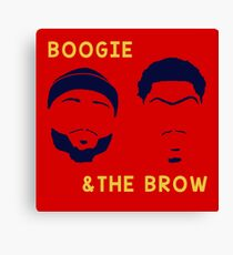 Boogie and The Brow Canvas Print