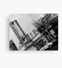metro theatre Canvas Print
