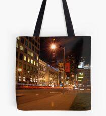 union square @ night Tote Bag