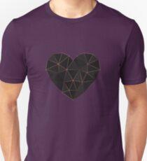 Kintsugi - Gold Rose Unisex T-Shirt