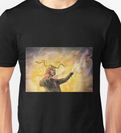 His Robes Are A Wind Of Invisible Voices T-Shirt