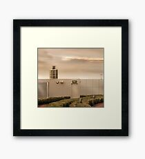 Mercedes Building Framed Print