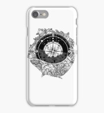 Compass and Whale iPhone Case/Skin