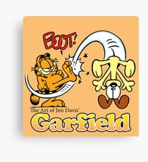 THE ART OF JIM DAVIS 2017 GARFIELD Callista  Canvas Print