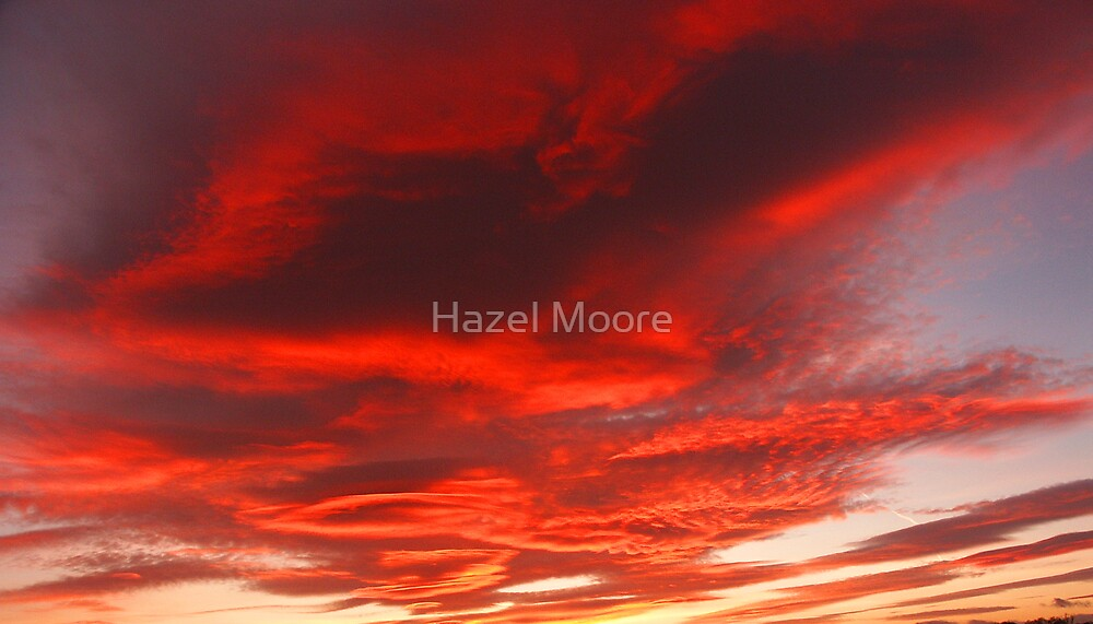 Fire in the Sky by Hazel Moore