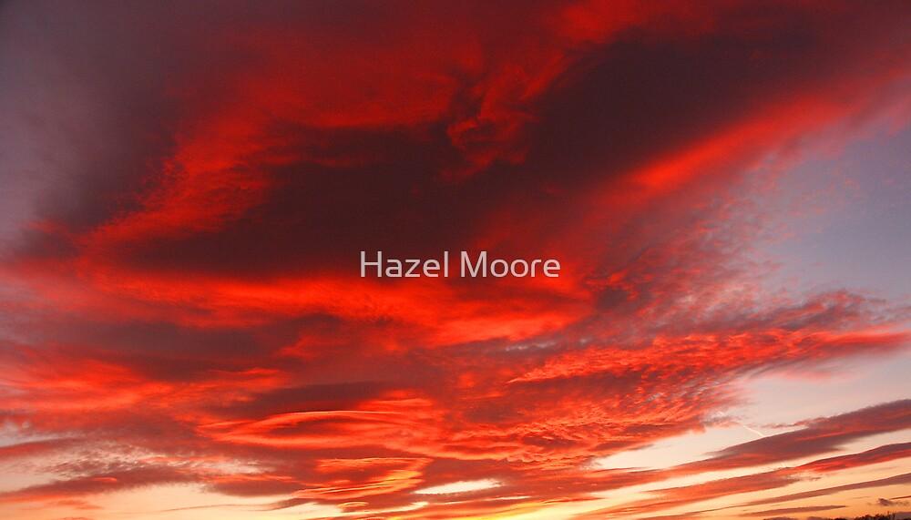 Fire in the Sky by Hazel Moore