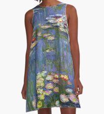 monet - water lilies A-Line Dress