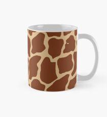 Burlywood in Giraffe Pattern Mug