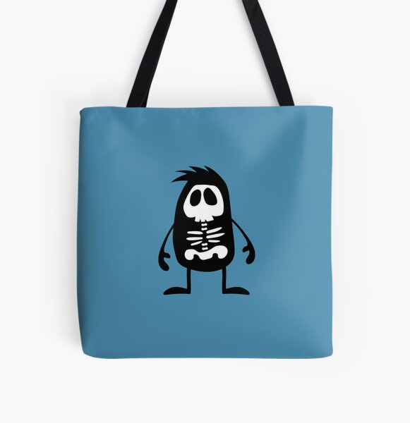 BadaBada - X is for X-ray All Over Print Tote Bag