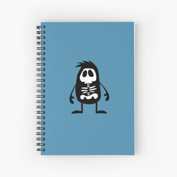 BadaBada - X is for X-ray Spiral Notebook