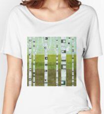 Summer Birches Women's Relaxed Fit T-Shirt