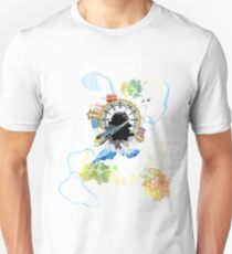 Sounds of City, visualized! Unisex T-Shirt