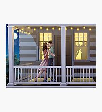 Fitzsimmons - Dancing at Night Photographic Print