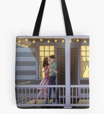 Fitzsimmons - Dancing at Night Tote Bag