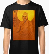 Artwork of Buddha with halo art photo print Classic T-Shirt