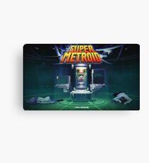 Super Metroid HD Canvas Print