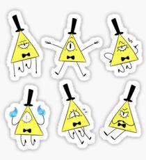 Bill Cipher Sheet Sticker