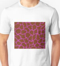 Byzantine in Giraffe Pattern  Unisex T-Shirt