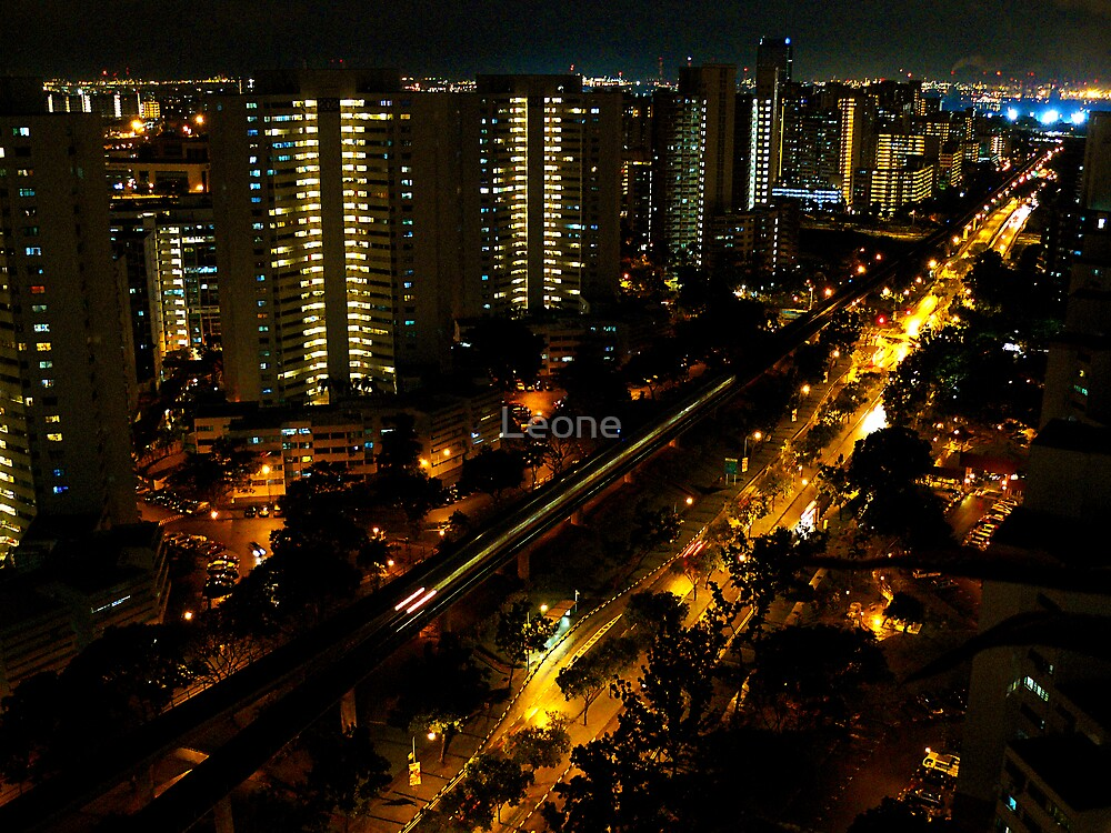 towards Jurong from Bukit Batok, Singapore by fabreplus