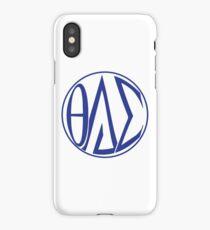 Theta Delta Sigma Monogram Sticker iPhone Case/Skin