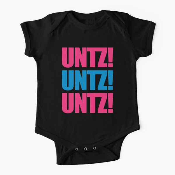 Untz Rave Quote Short Sleeve Baby One-Piece