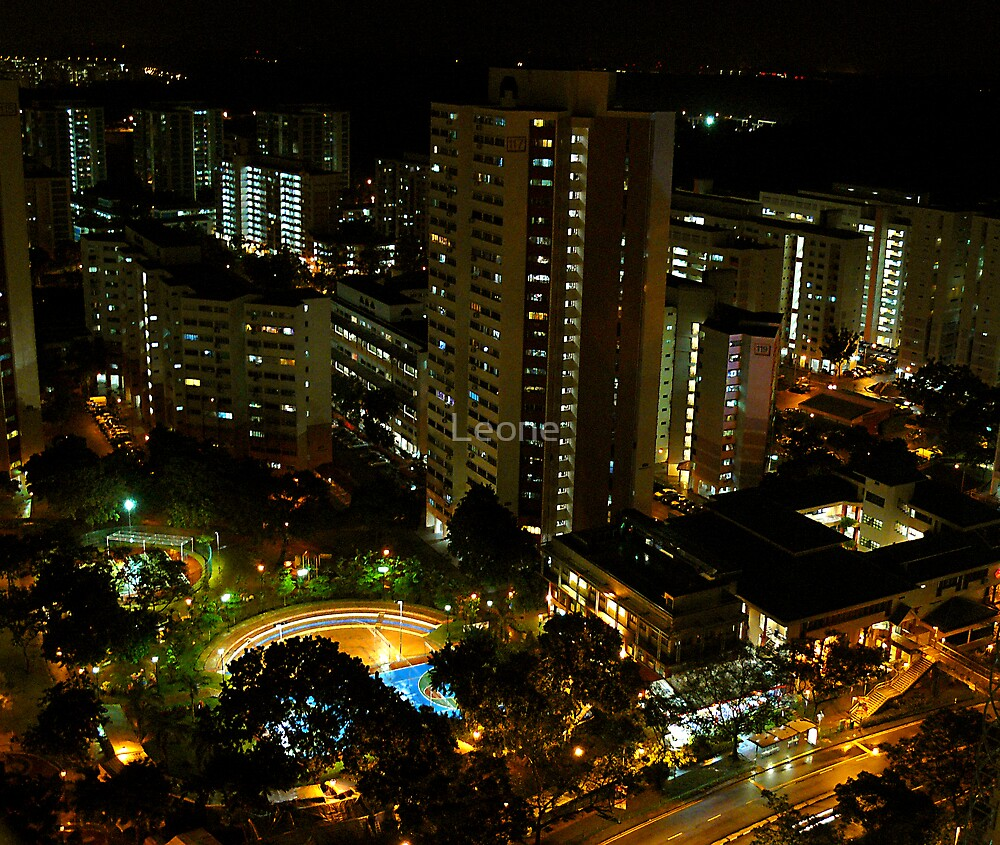 Bukit Batok West - Singapore by Leone Fabre