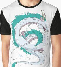 Haku - Spirited Away Dragon Graphic T-Shirt