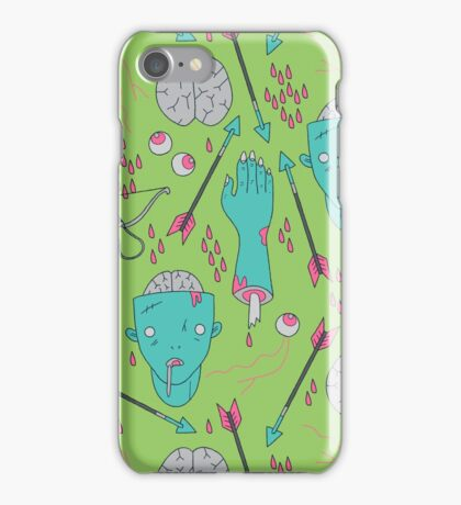 Zombie Soul Pattern iPhone Case/Skin
