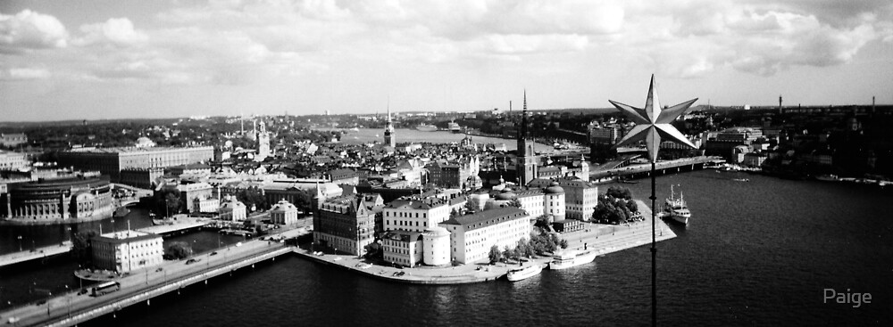 Stockholm B&W by Paige