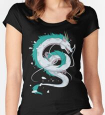 Haku - Spirited Away Dragon Women's Fitted Scoop T-Shirt