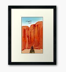 Lady of the Desert Framed Print