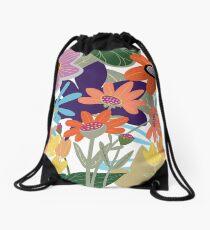 The Tangled Garden Drawstring Bag