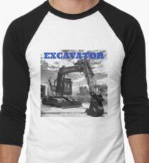 EXCAVATOR Men's Baseball ¾ T-Shirt
