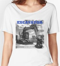 EXCAVATOR Women's Relaxed Fit T-Shirt
