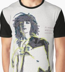 Patti Smith Illustration Graphic T-Shirt