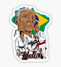 Helio Gracie Sticker