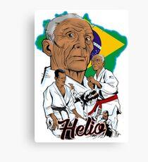 Helio Gracie Canvas Print