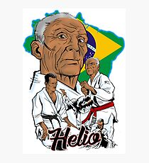 Helio Gracie Photographic Print