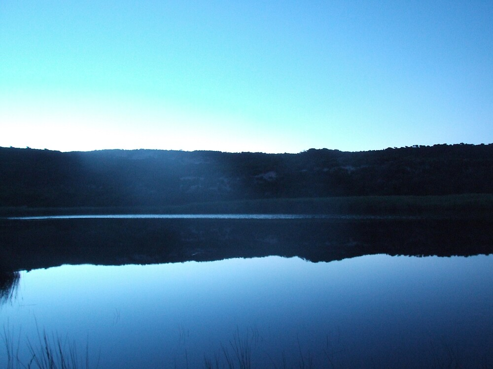 Lake in the early morning by Gavan  Mitchell