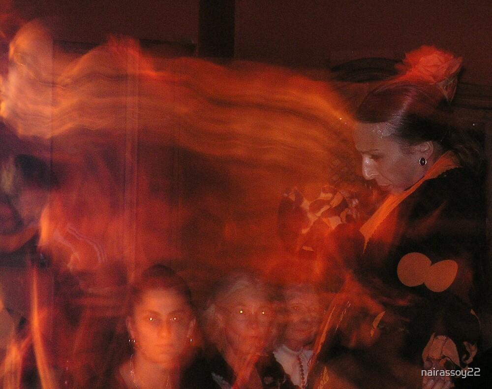 Flamenco dancer by nairassoy22