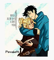 Percabeth for Life Photographic Print